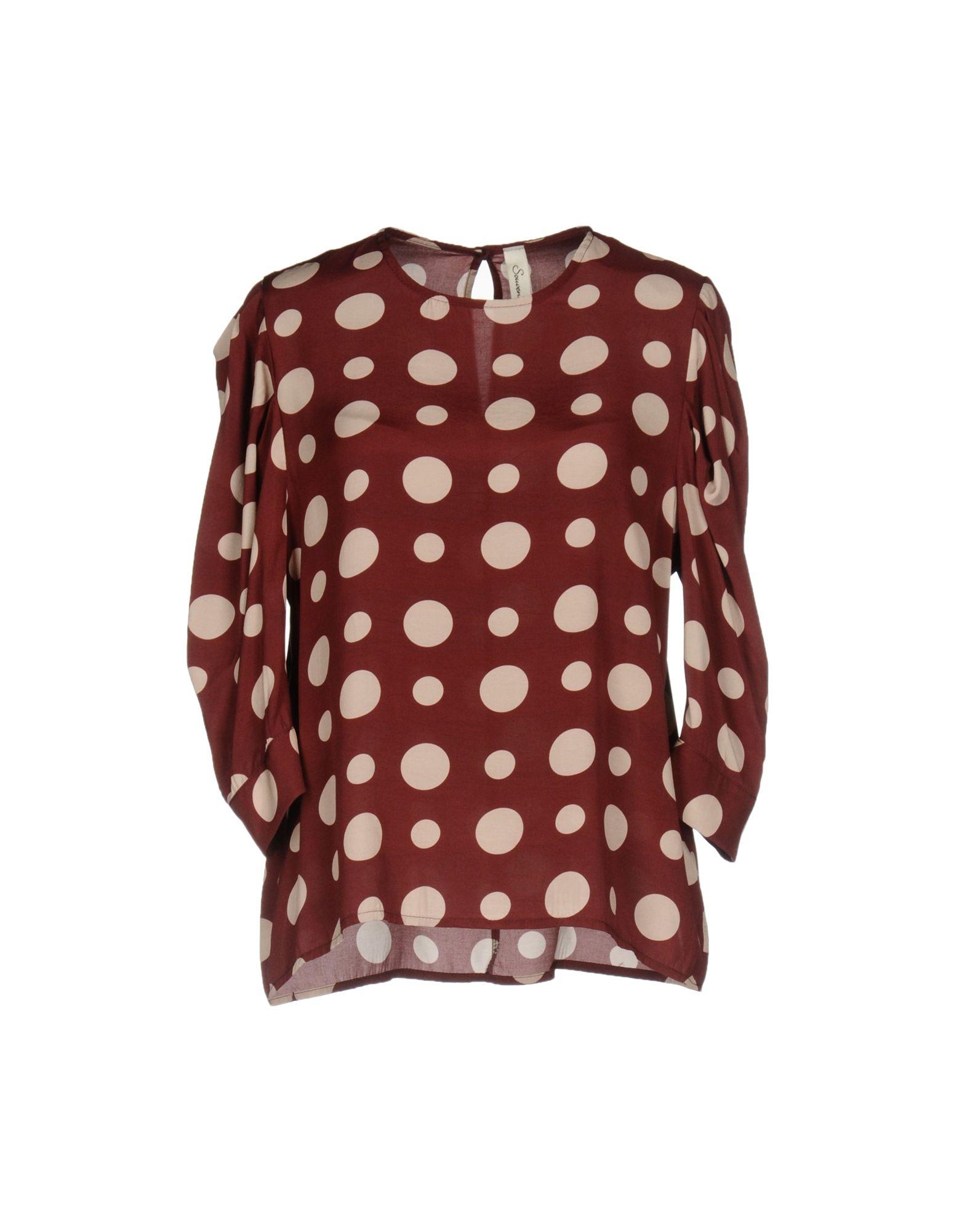SOUVENIR Блузка souvenir платье длиной 3 4