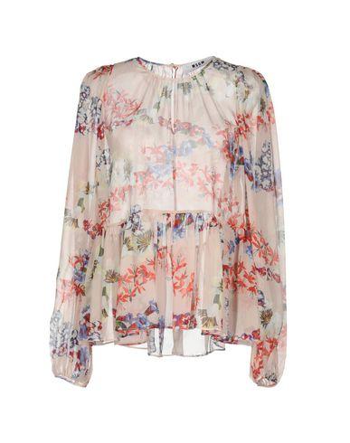 Купить Женскую блузку MSGM красного цвета