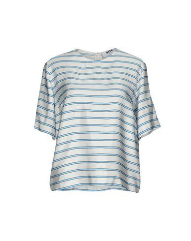 Купить Женскую блузку MSGM светло-серого цвета