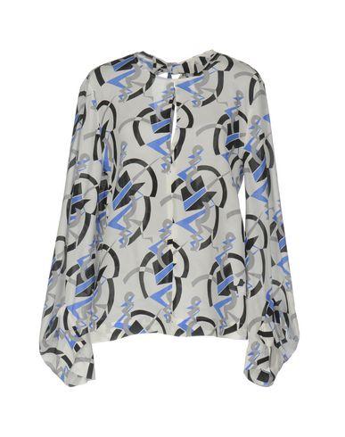 Фото - Женскую блузку MSGM цвет слоновая кость