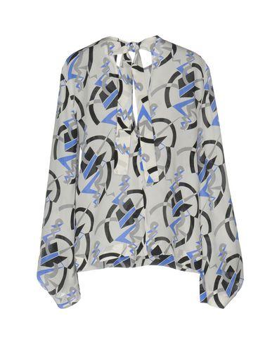 Фото 2 - Женскую блузку MSGM цвет слоновая кость