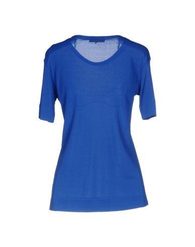 Фото 2 - Женскую блузку  синего цвета
