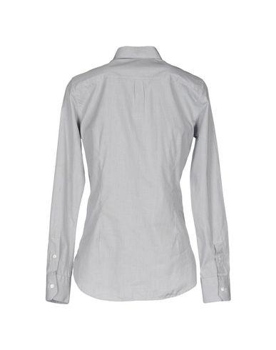 Фото 2 - Pубашка серого цвета