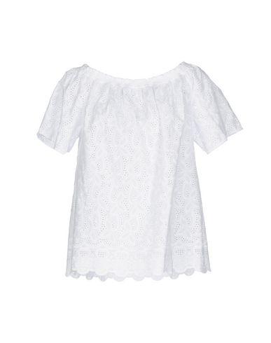 Фото - Женскую блузку CAMICETTASNOB белого цвета