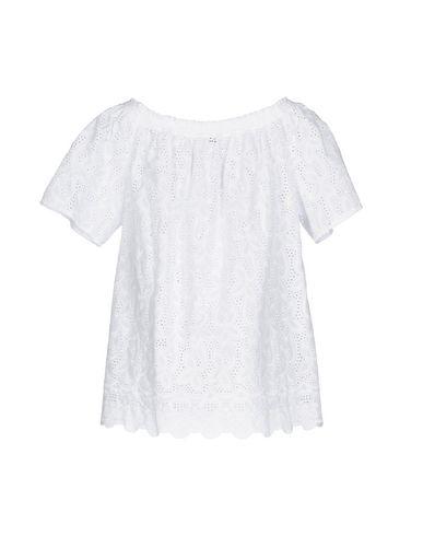 Фото 2 - Женскую блузку CAMICETTASNOB белого цвета