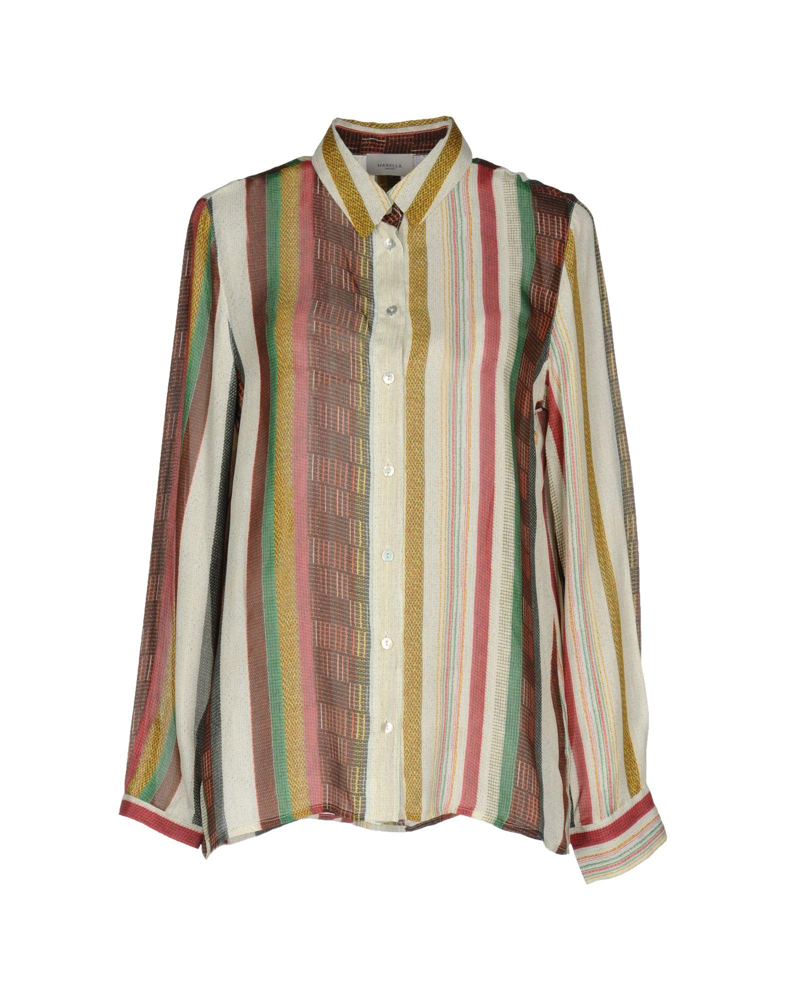 цена MARELLA SPORT Pубашка онлайн в 2017 году