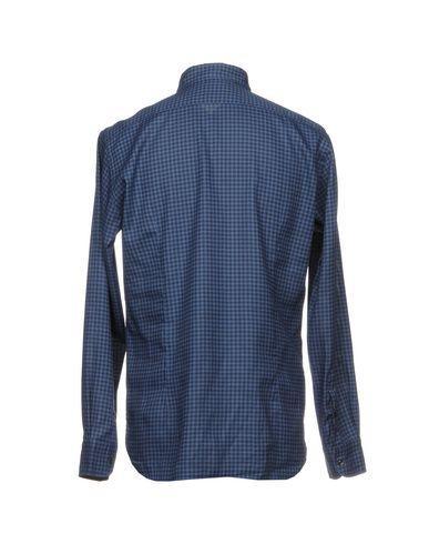 Фото 2 - Pубашка от DEL SIENA синего цвета