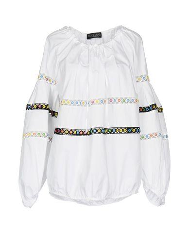 Фото - Женскую блузку NORA BARTH белого цвета