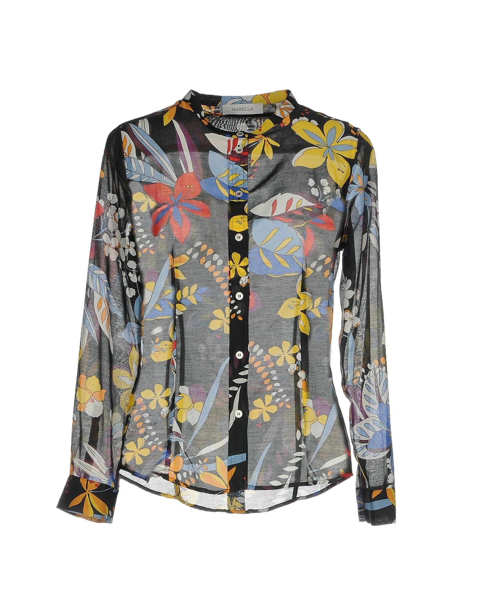 цена MARELLA Pубашка онлайн в 2017 году