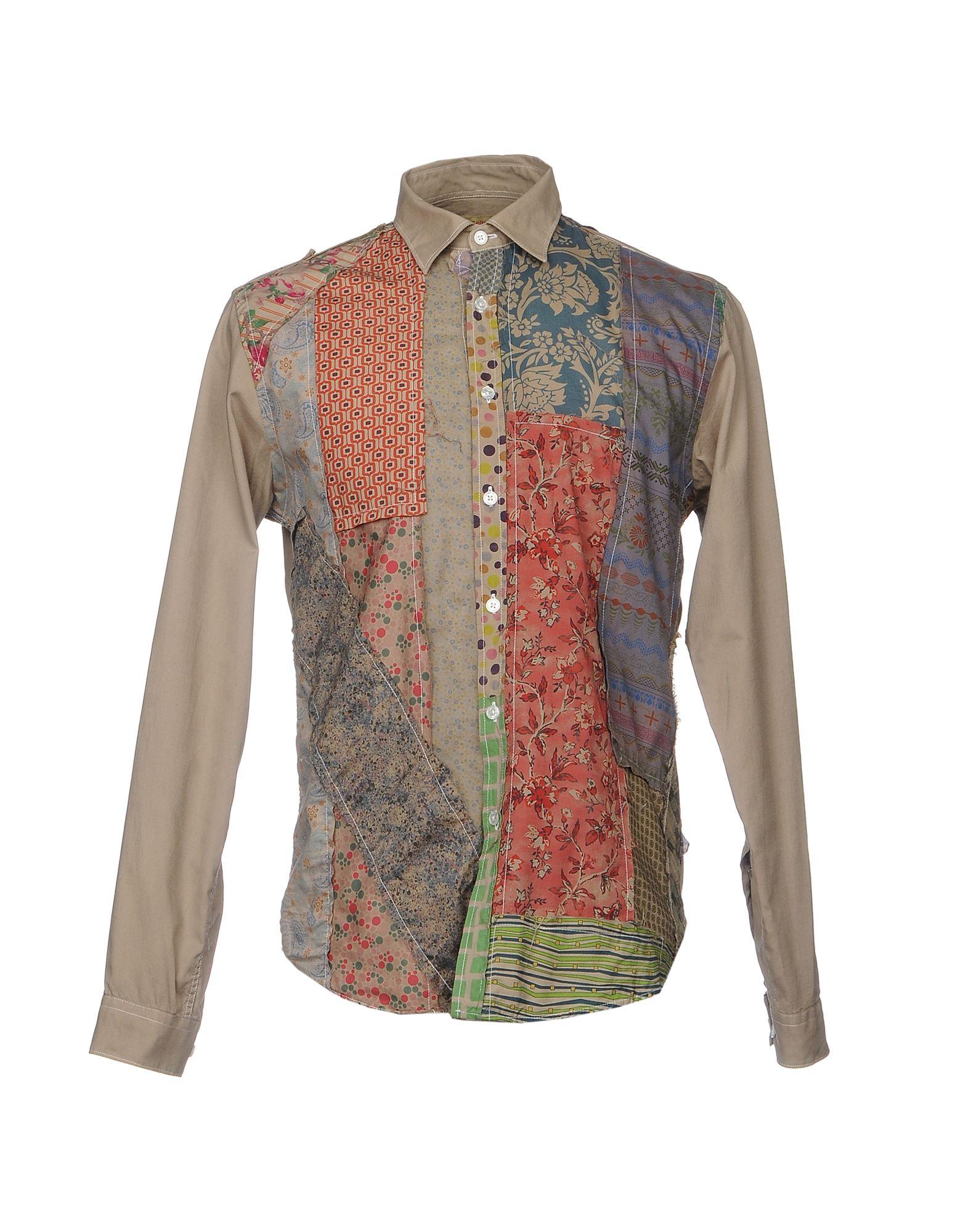 BEAT GENERATION Herren Hemd Farbe Khaki Größe 7