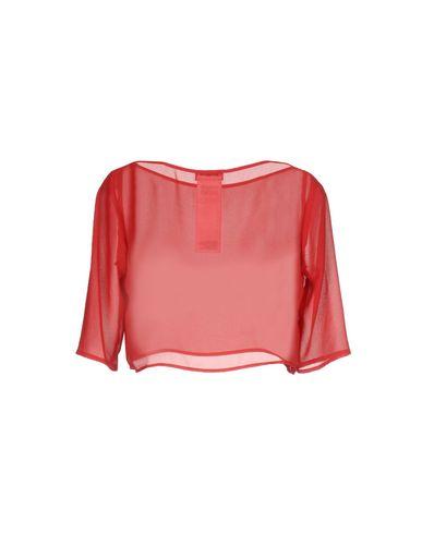 Фото 2 - Женскую блузку  красного цвета