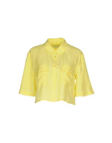 Фото - Pубашка желтого цвета