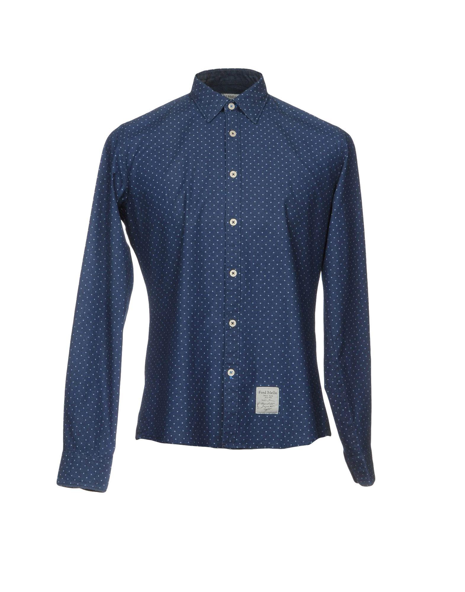 FRED MELLO Джинсовая рубашка fred mello повседневные брюки