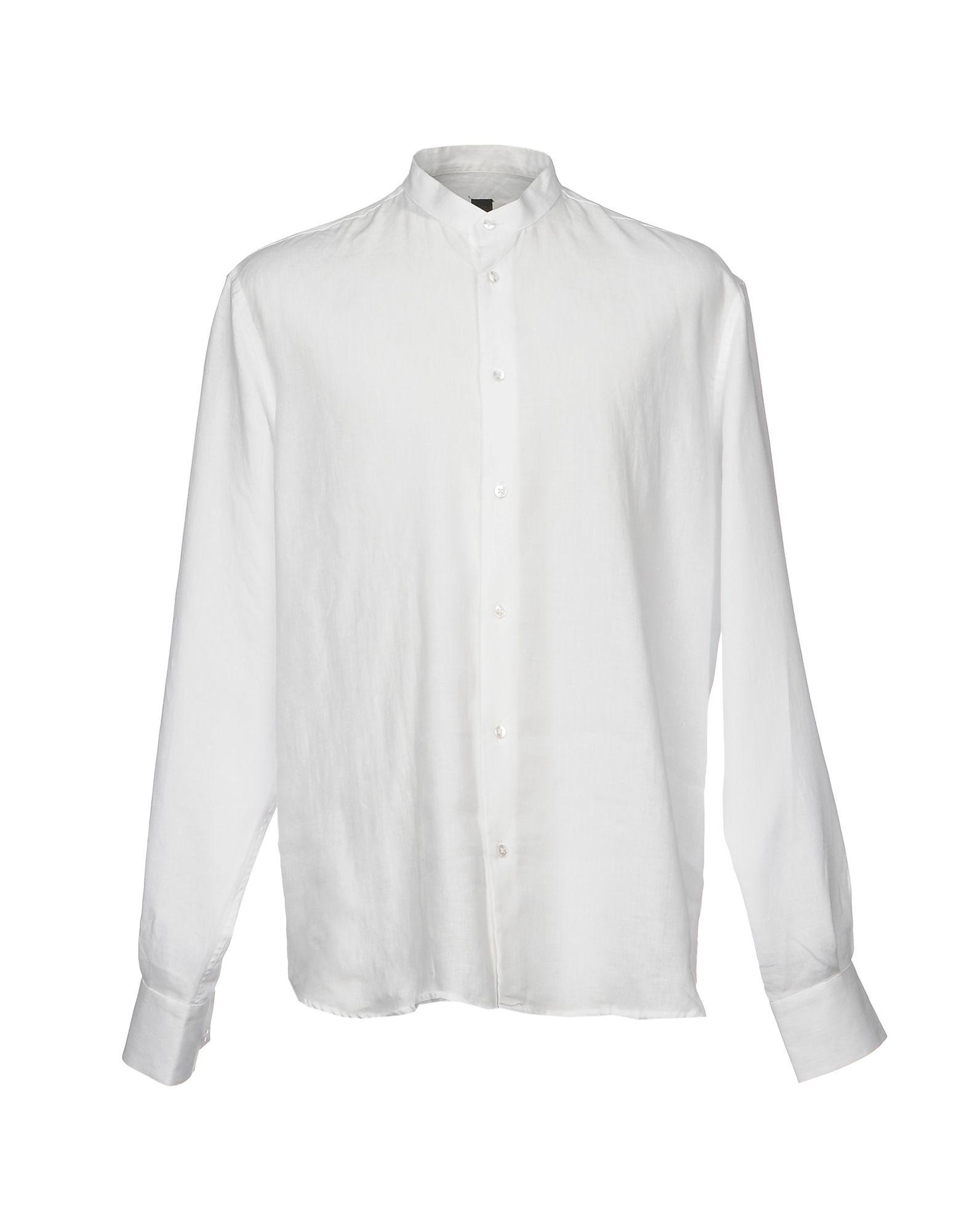 《送料無料》MAXI HO メンズ シャツ ホワイト XXL コットン 100%