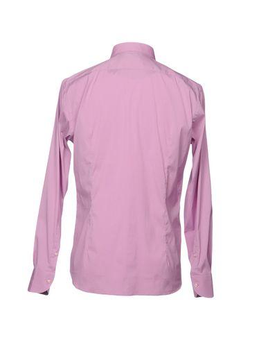 Фото 2 - Pубашка от DEL SIENA пастельно-розового цвета