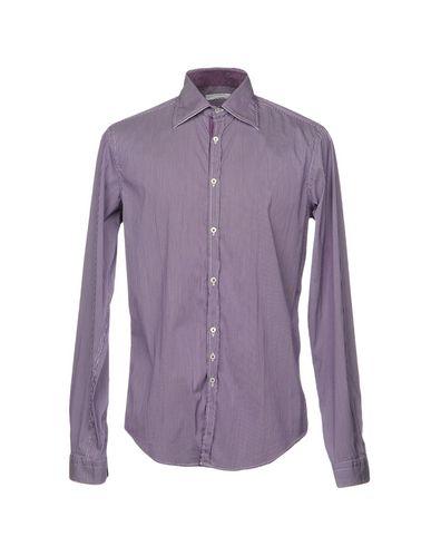 Фото - Pубашка от AGLINI фиолетового цвета