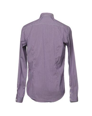 Фото 2 - Pубашка от AGLINI фиолетового цвета