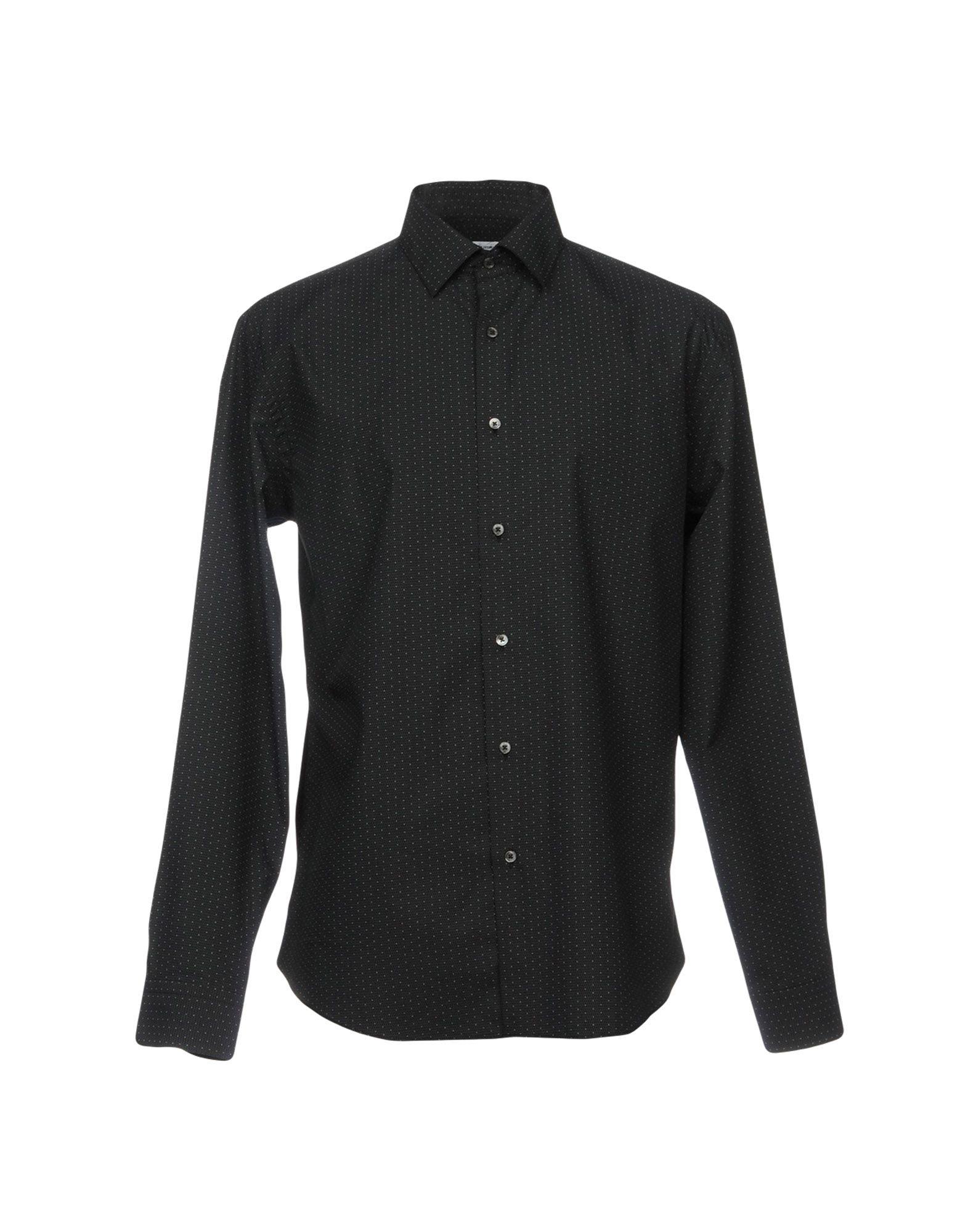 ROBERT FRIEDMAN Patterned Shirt in Black