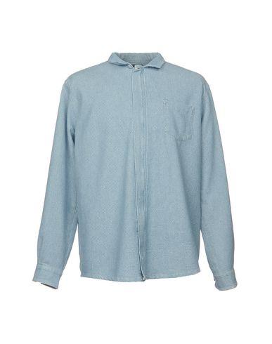 Фото - Pубашка от PAURA небесно-голубого цвета