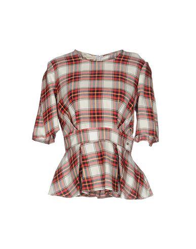 Фото - Женскую блузку ELISABETTA FRANCHI JEANS красного цвета