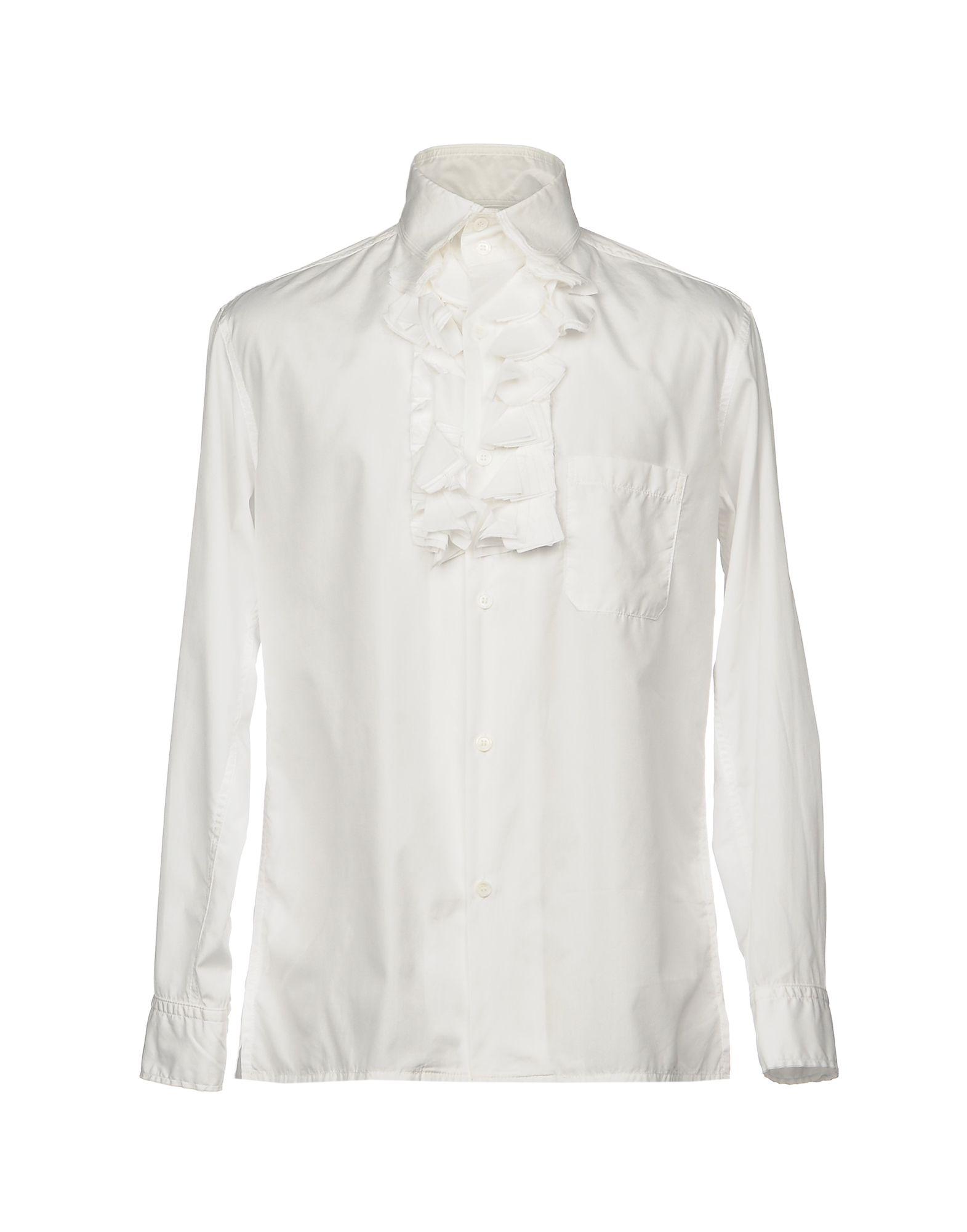 купить YOHJI YAMAMOTO POUR HOMME Pубашка по цене 61000 рублей