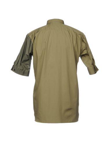 Фото 2 - Pубашка цвет зеленый-милитари