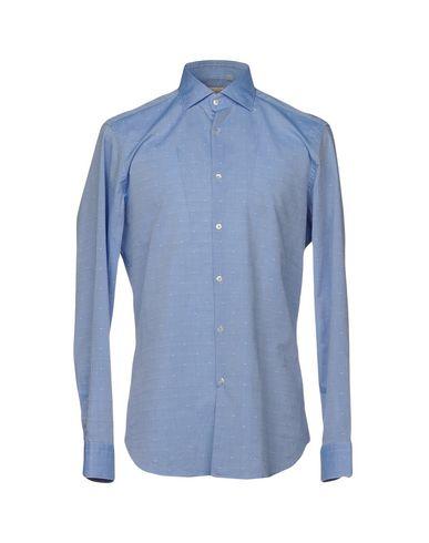 Купить Pубашка от MICHAEL COAL небесно-голубого цвета