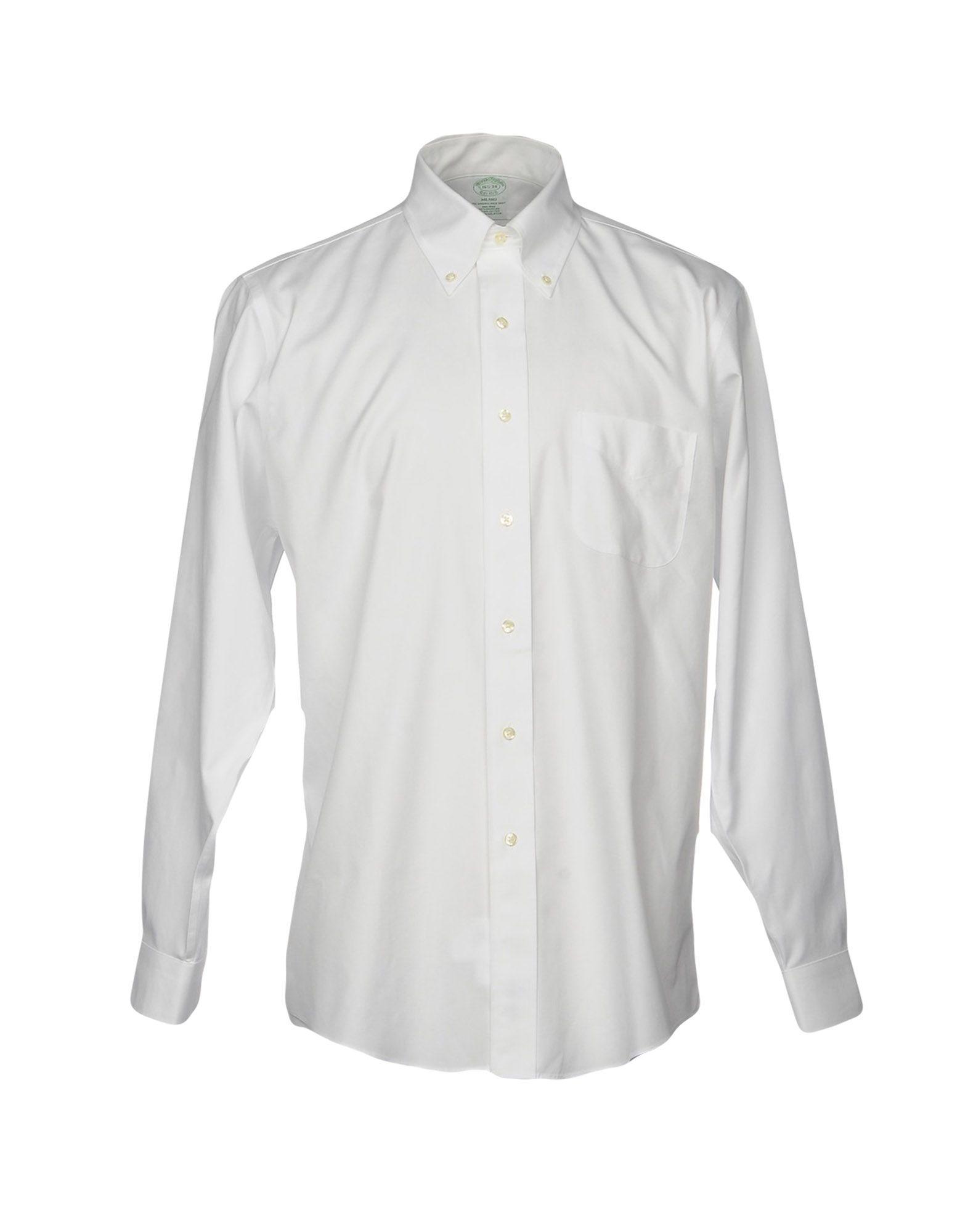 メンズ BROOKS BROTHERS シャツ ホワイト