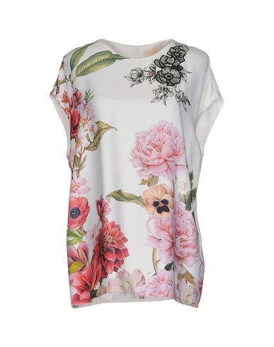 Фото - Женскую блузку VDP COLLECTION белого цвета