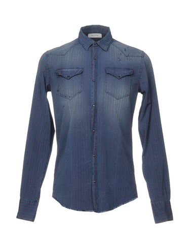 Фото - Pубашка от AGLINI синего цвета