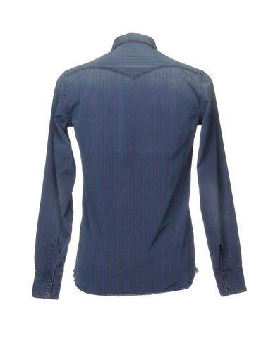 Фото 2 - Pубашка от AGLINI синего цвета