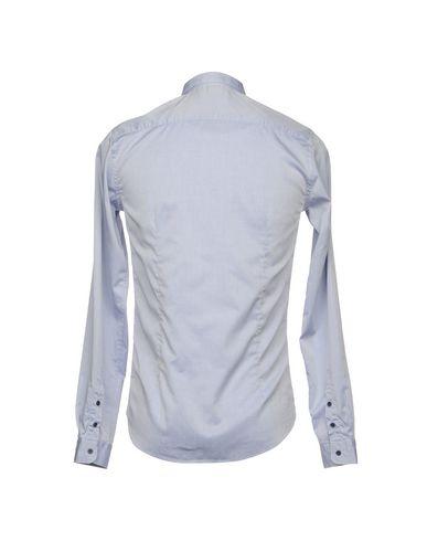 Фото 2 - Pубашка от AGLINI небесно-голубого цвета