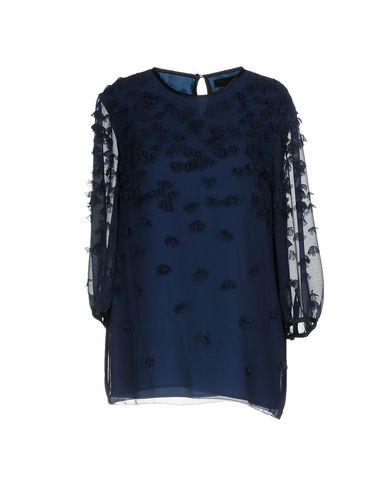 Фото - Женскую блузку TWINSET темно-синего цвета