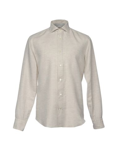 Фото - Pубашка от ELEVENTY светло-серого цвета