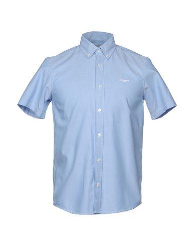 Фото - Pубашка от CARHARTT лазурного цвета