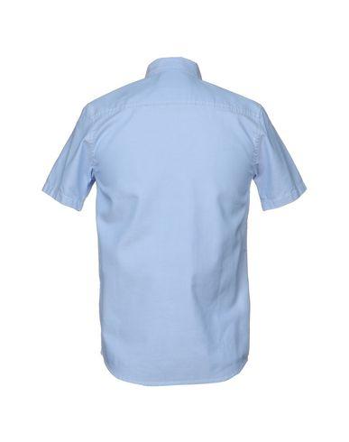 Фото 2 - Pубашка от CARHARTT лазурного цвета