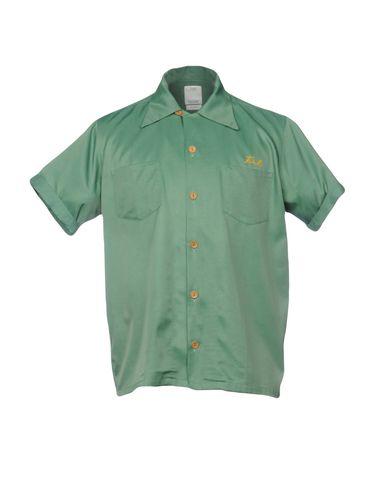 Фото - Pубашка от VISVIM зеленого цвета