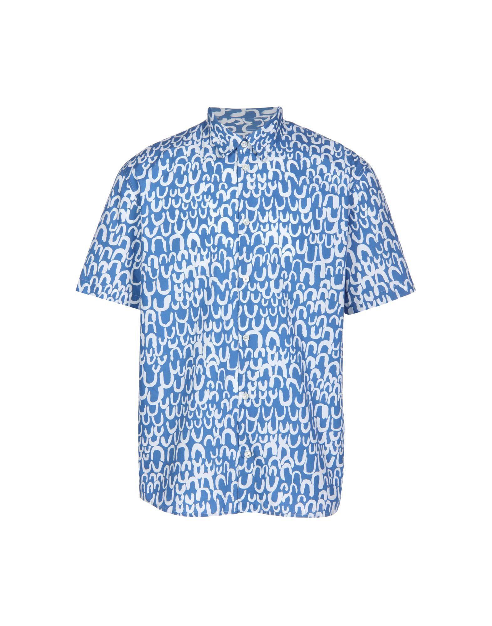 HENTSCH MAN Shirts in Blue