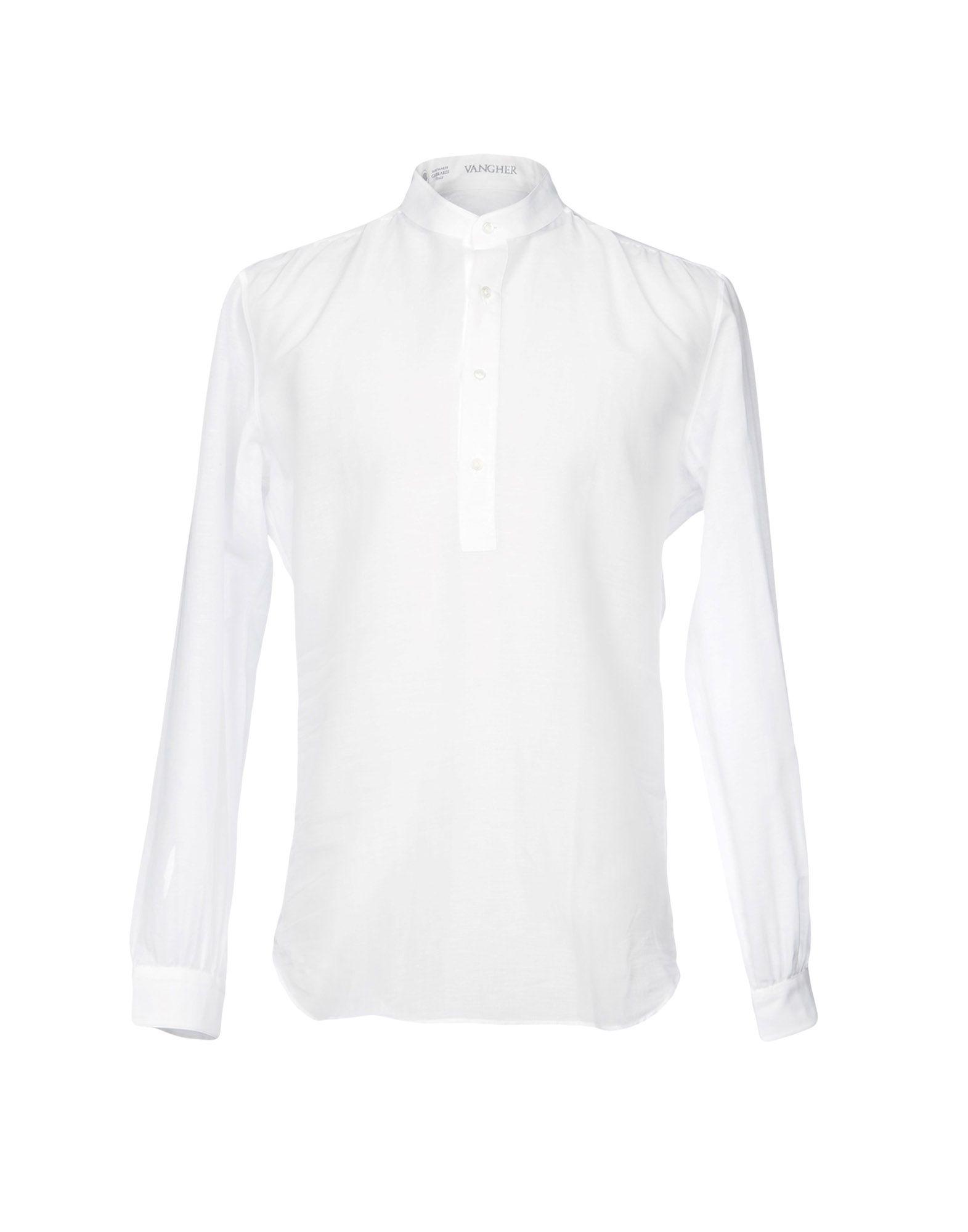 VANGHER N.7 Pубашка vangher n 7 pубашка