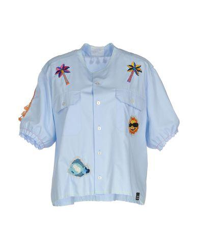 Купить Pубашка от MPD BOX небесно-голубого цвета