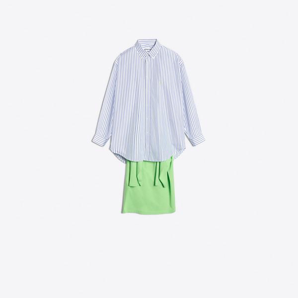 Tシャツ コンビ  ロングスリーブ シャツ