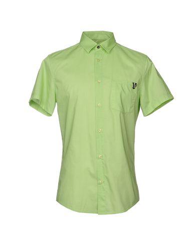 Фото - Pубашка светло-зеленого цвета