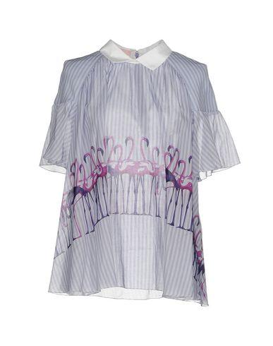 Фото - Женскую блузку  сиреневого цвета
