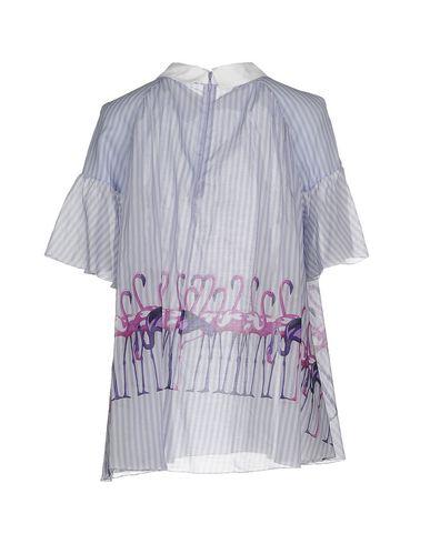 Фото 2 - Женскую блузку  сиреневого цвета