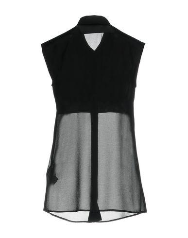 VERSACE COLLECTION Damen Hemd Schwarz Größe 34 100% Polyester