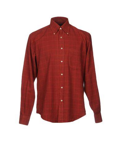 Фото - Pубашка от LIFE•HILL кирпично-красного цвета