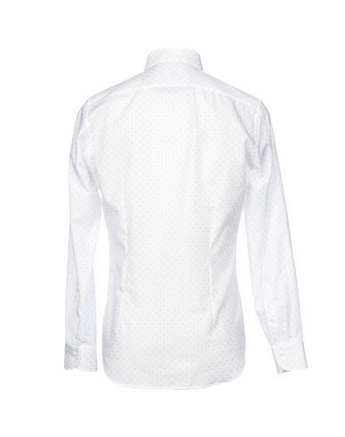 Фото 2 - Pубашка от MASTAI FERRETTI белого цвета