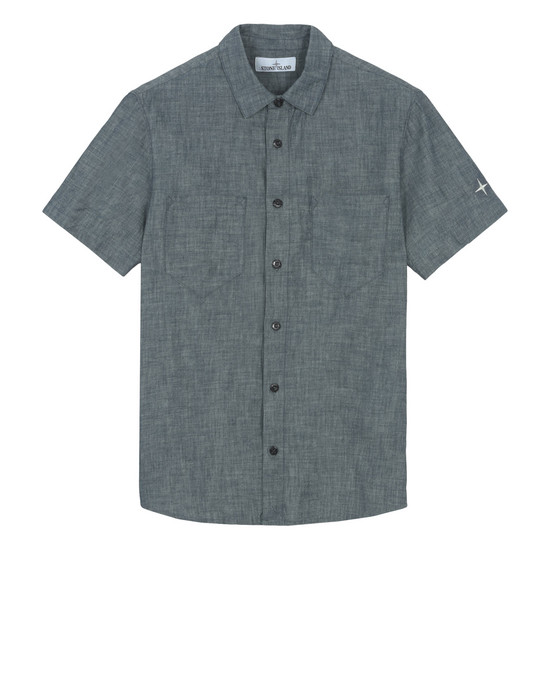 STONE ISLAND Short sleeve shirt 12607