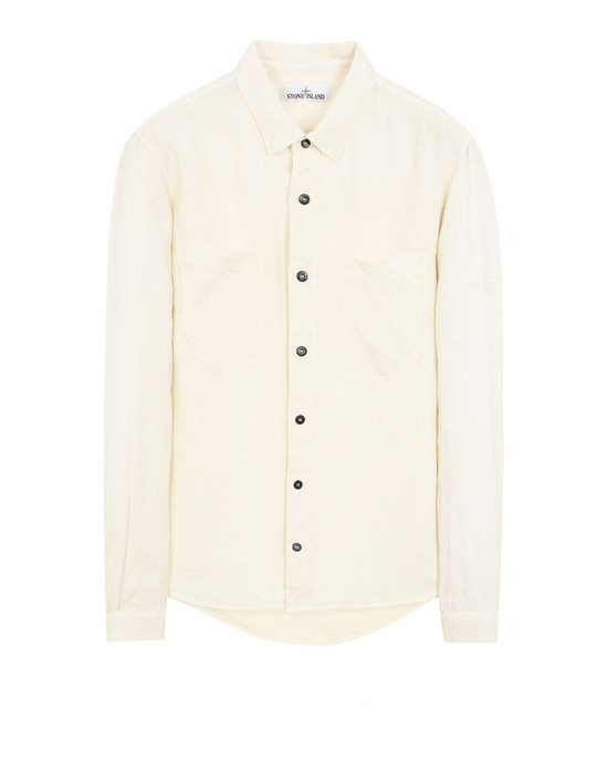STONE ISLAND Long sleeve shirt 11201 'FISSATO' DYE TREATMENT