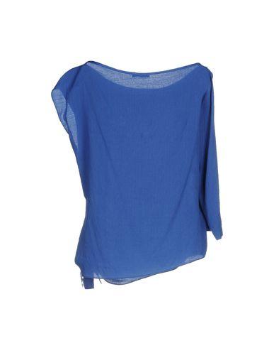 Фото 2 - Женскую блузку HANITA ярко-синего цвета